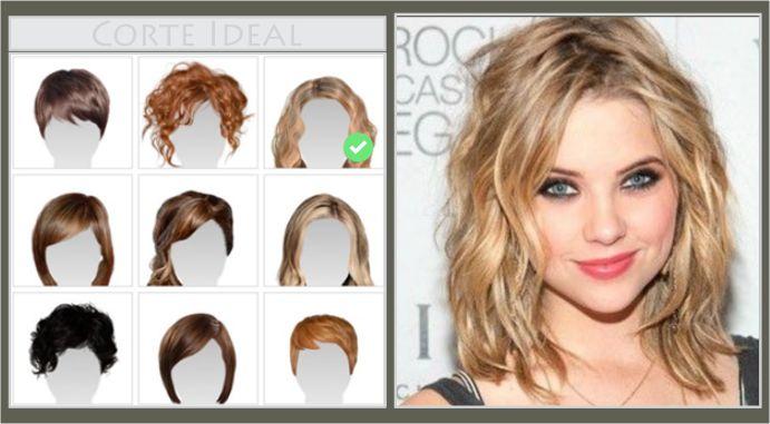 Descubra seu corte de cabelo Perfeito para o formato do seu rosto!