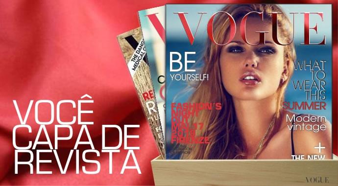 Como seria sua capa da Vogue?