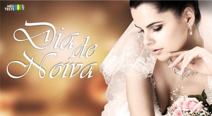 Descubra como você ficaria vestida de NOIVA!