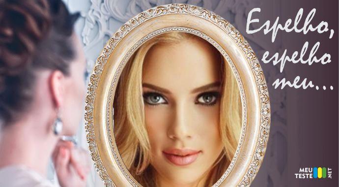 Espelho espelho meu, existe alguém mais bela do que eu?