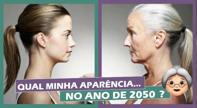 Como seria meu rosto em 2050