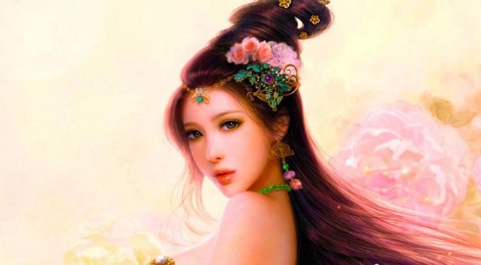 Qual seria a sua aparência como uma linda princesa chinesa?