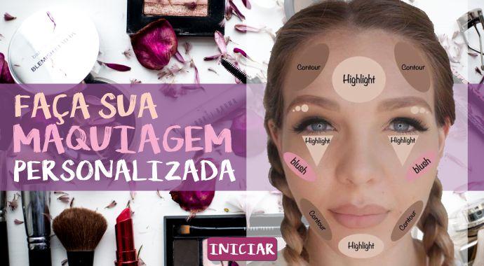 Faça sua Maquiagem Personalizada!