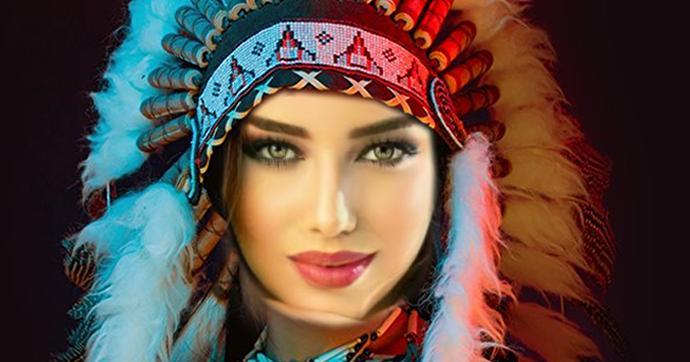 Qual seria seu Nome e aparência se você fosse uma índia?