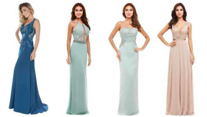 Qual vestido de festa fica melhor em você?