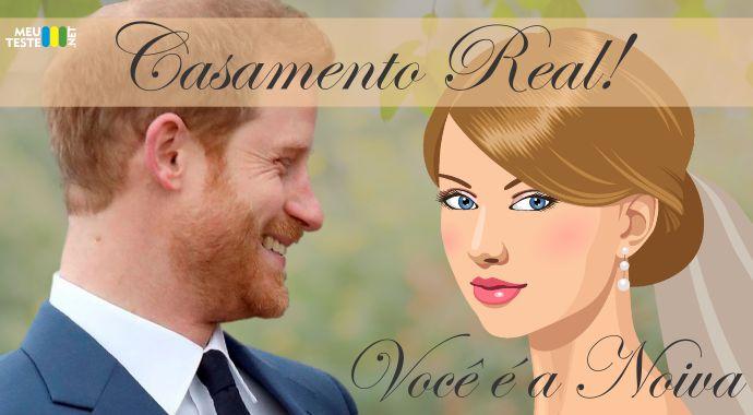 Seja você a noiva do próximo casamento real da Inglaterra!