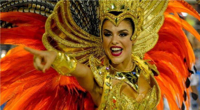 Faça seu filtro de Rainha da Bateria do Carnaval 2019