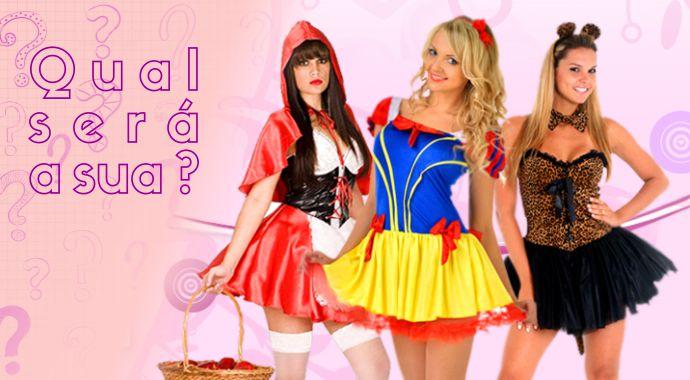 Descubra qual sua fantasia do próximo carnaval!